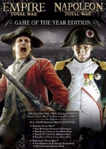 Empire & Napoleon Total War (GOTY) Steam Key GLOBAL