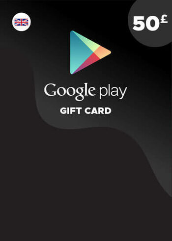 Google Play Gift Card 50 GBP (UK) Key UNITED KINGDOM