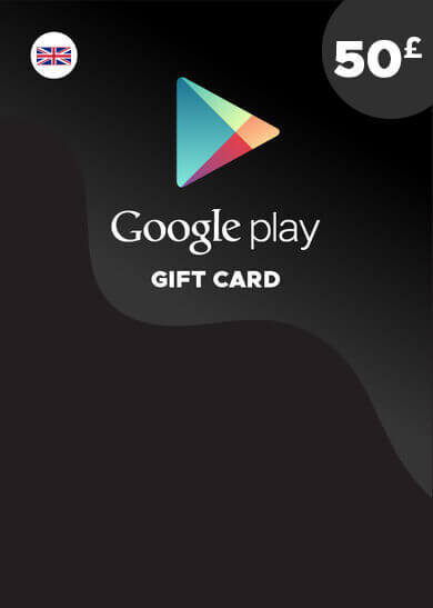 Google Play Gift Card 50 GBP Key UNITED KINGDOM