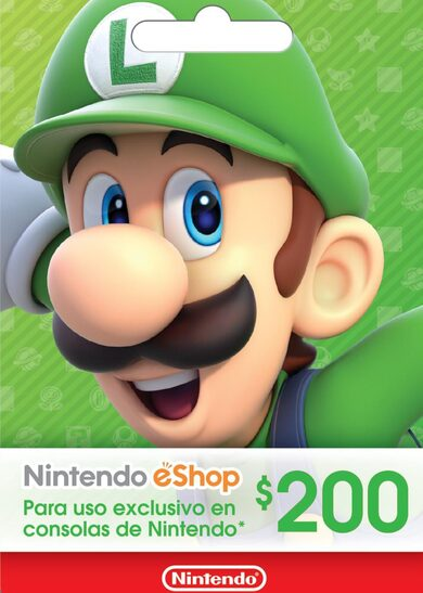 Nintendo eShop Card 200 MXN Key MEXICO