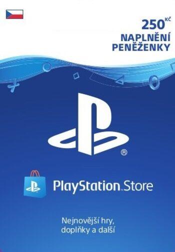 PlayStation Network Card 250 CZK (CZ) PSN Key CZECH REPUBLIC