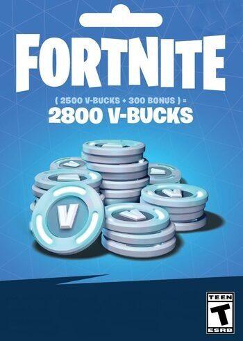 Fortnite - 2800 V-Bucks Gift Card Key EUROPE