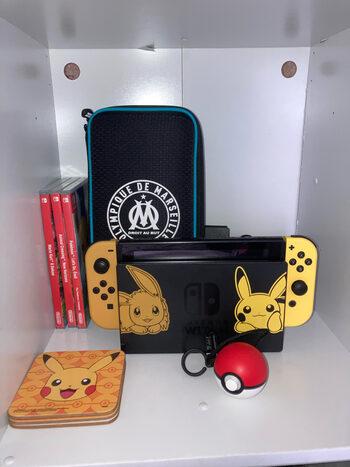 Nintendo switch edition limitee pokemon. Vendu avec jeux.