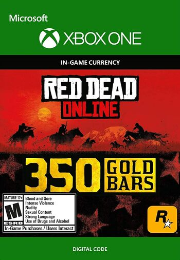 Red Dead Redemption 2 Online 350 Gold Bars (Xbox One) Xbox Live Key GLOBAL