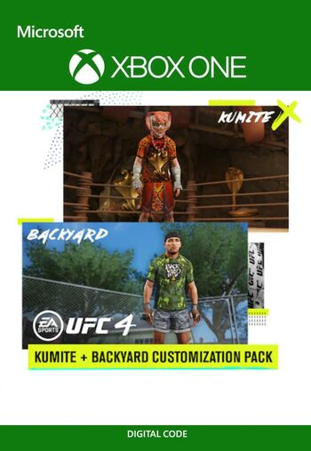 UFC 4 - Backyard & Kumite Customization Packs (DLC) XBOX LIVE Key UNITED STATES