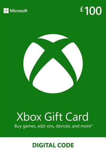 Xbox Live Gift Card 100 GBP Xbox Live Key UNITED KINGDOM