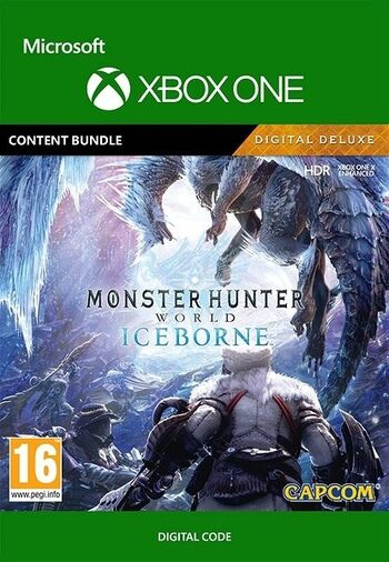 Monster Hunter World: Iceborne Digital Deluxe (DLC) XBOX LIVE Key UNITED STATES