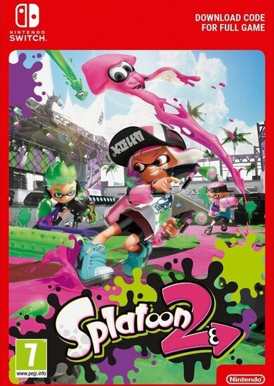 Splatoon 2 (Nintendo Switch) eShop Clave EUROPE