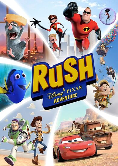 Rush: A Disney & Pixar Adventure Steam Key GLOBAL