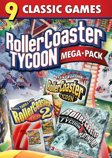 RollerCoaster Tycoon: Mega Pack Steam Key GLOBAL