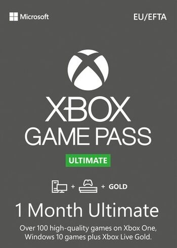 Xbox Game Pass Ultimate – 1 Miesięczną Subskrypcję (Xbox One/ Windows 10) Xbox Live Key GLOBAL