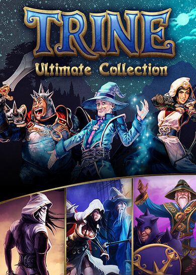 Trine: Ultimate Collection Steam Key EUROPE фото