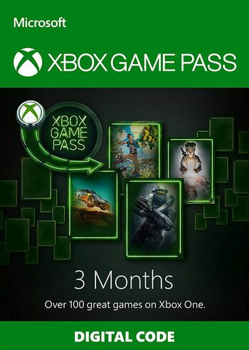 Xbox Game Pass 3 mois Clé Xbox Live GLOBAL