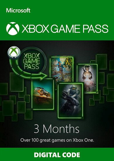 Xbox Game Pass 3 meses Xbox Live Codigo GLOBAL