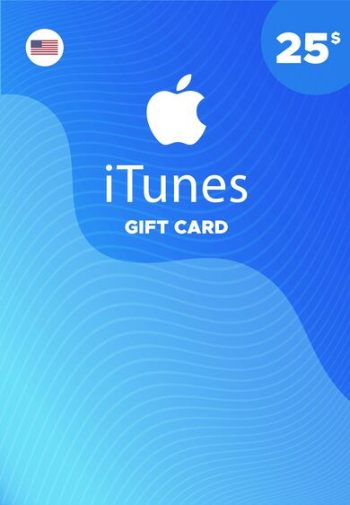 Apple iTunes Gift Card 25 USD iTunes Key UNITED STATES