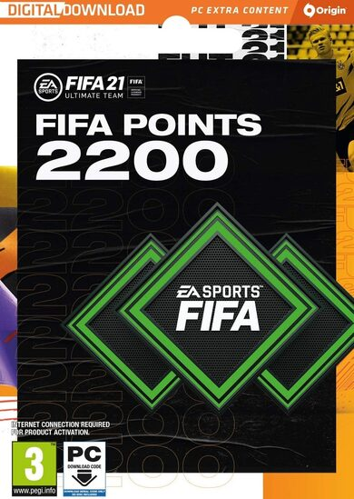 FIFA 21 - 2200 FUT Points Origin Key GLOBAL