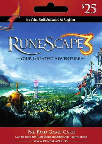 RuneScape $25 USD Key UNITED STATES