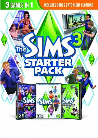 The Sims 3 (Starter Pack) Origin Key GLOBAL