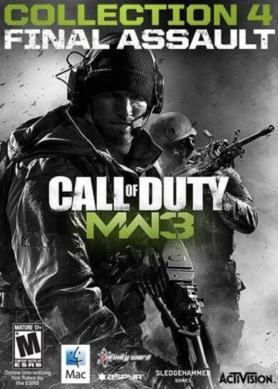 Call of Duty: Modern Warfare 3 - Collection 4: Final Assault (DLC) (MAC OS X) Steam Key GLOBAL