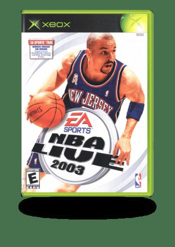 NBA Live 2003 Xbox