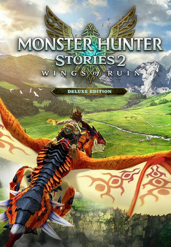 Monster Hunter Stories 2: Wings of Ruin Deluxe Edition Steam Key GLOBAL