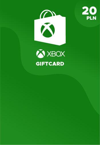 Karta podarunkowa Xbox Live 20 PLN Xbox Live Klucz POLAND