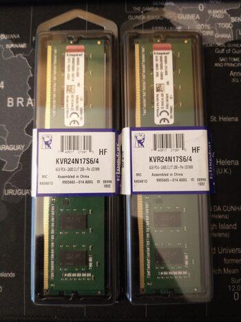 Kingston 8 GB (2 x 4) DDR4-2400 PC RAM
