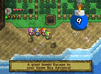 Redeem The Legend of Zelda: A Link to the Past and Four Swords Game Boy Advance