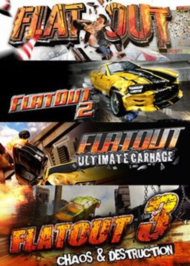 FlatOut: Complete Pack Steam Key GLOBAL