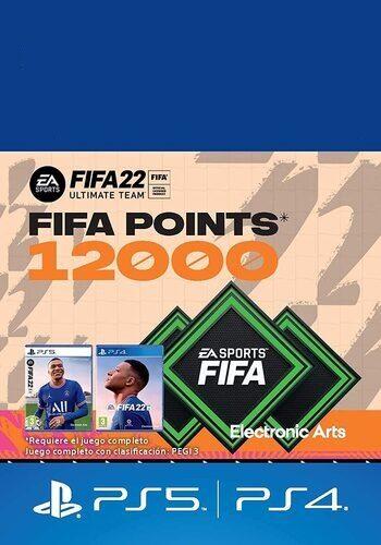 FIFA 22 - 12000 FIFA Points (PS4/PS5) PSN Key UNITED STATES