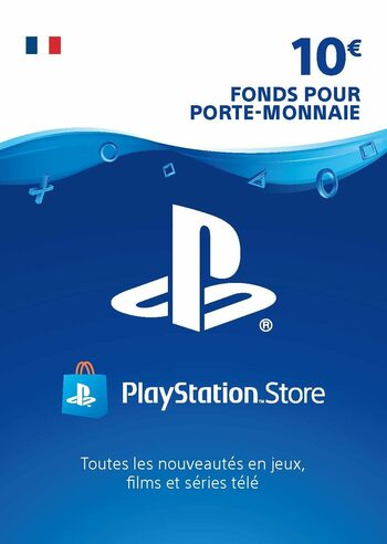 Carte PlayStation Network 10 EUR (FR) Carte PSN FRANCE