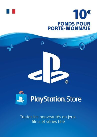 PlayStation Network Card 10 EUR (FR) PSN Key FRANCE