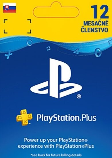 PlayStation Plus Card 365 Days (SK) PSN Key SLOVAKIA