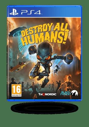 Destroy All Humans! PlayStation 4