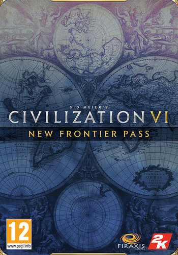 Sid Meier's Civilization VI: New Frontier Pass (DLC) Steam Key GLOBAL