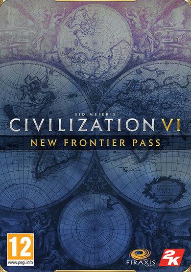 Sid Meier's Civilization VI: New Frontier Pass (DLC) Steam Key GLOBAL