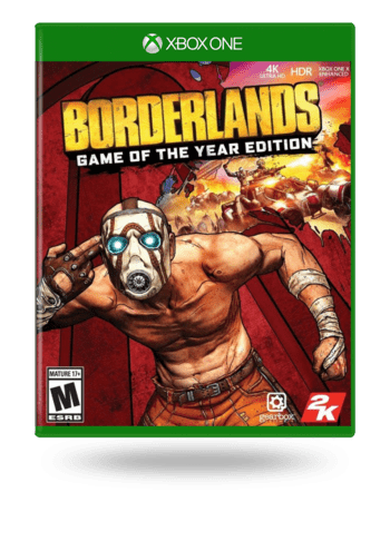 Borderlands Game of the Year Enhanced Xbox One