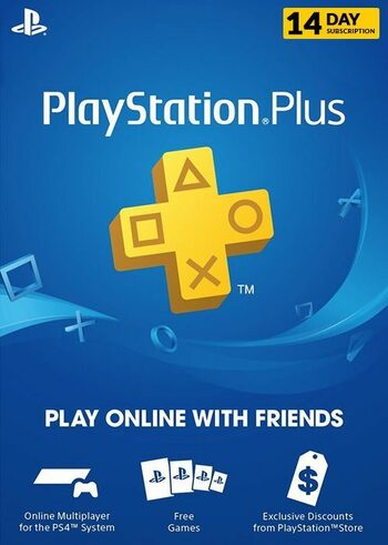 PlayStation Plus Card 14 Days TRIAL PSN Key UNITED STATES