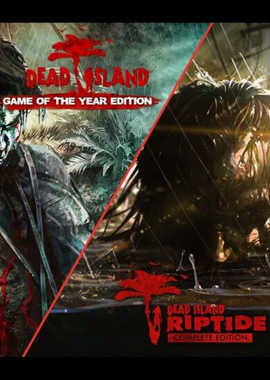 Dead Island GOTY + Dead Island Riptide Complete Edition Steam Key GLOBAL