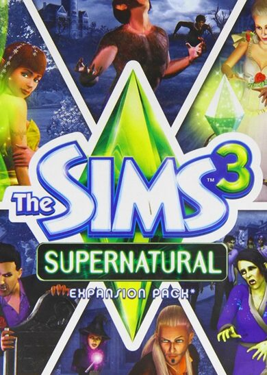 The Sims 3: Supernatural (DLC) Origin Key GLOBAL