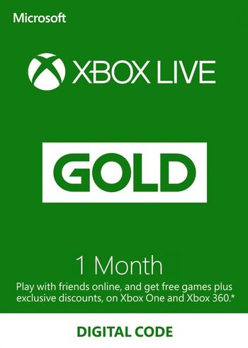 Xbox Live Gold 1 Monat Xbox Live key GLOBAL