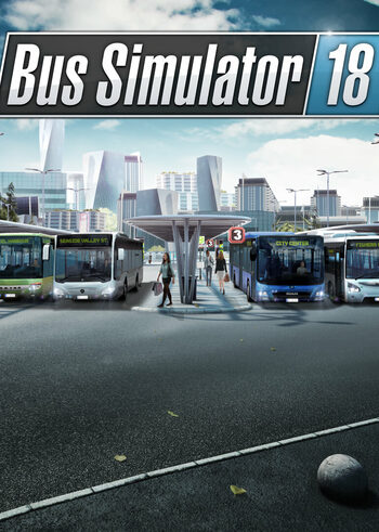 Bus Simulator 18 Steam Key EUROPE