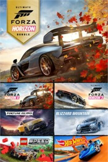 Forza Horizon 4 and Forza Horizon 3 Ultimate Editions Bundle  (PC/Xbox One) Xbox Live Key UNITED STATES