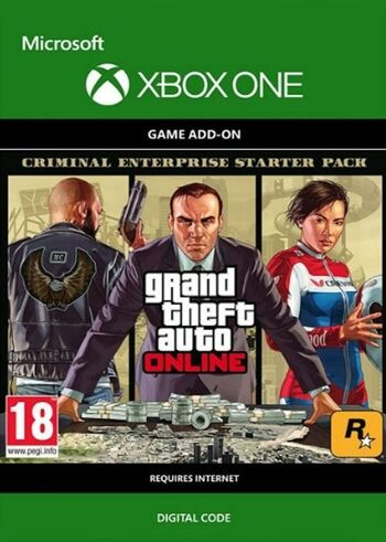 GTA V Criminal Enterprise Starter Pack Xbox One Key EUROPE