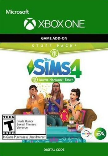The Sims 4: Movie Hangout Stuff (DLC) (Xbox One) Xbox Live Key UNITED STATES