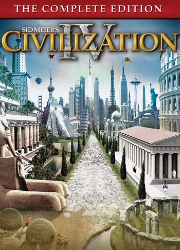 Sid Meier's Civilization IV The Complete Edition Steam Key GLOBAL