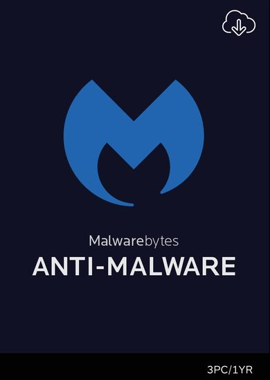 Malwarebytes Anti-Malware PREMIUM - 3 Device - 1 Year Key Global