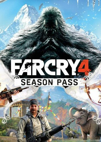 Far Cry 4 - Season Pass (DLC) Uplay Key GLOBAL