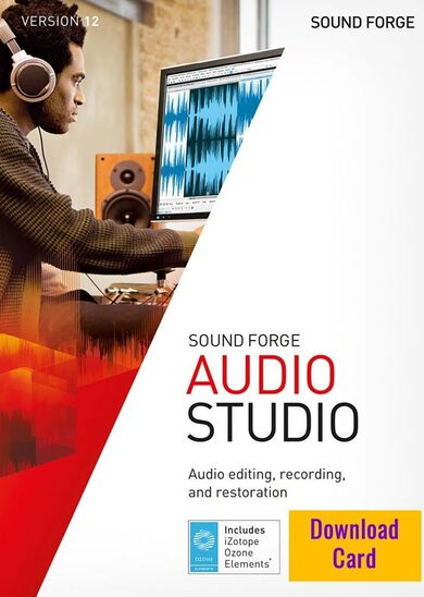 SOUND FORGE Audio Studio 12 Key GLOBAL