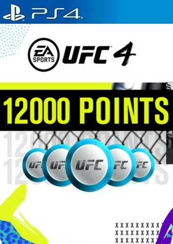 UFC 4 - 12000 UFC POINTS (PS4) PSN Key UNITED STATES
